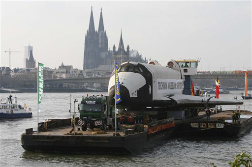 Buran on the Rhine