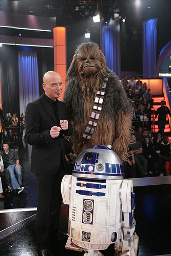 Chewie and R2 were reduced to doing the game-show circuit after their manager embezzled all the royalties...