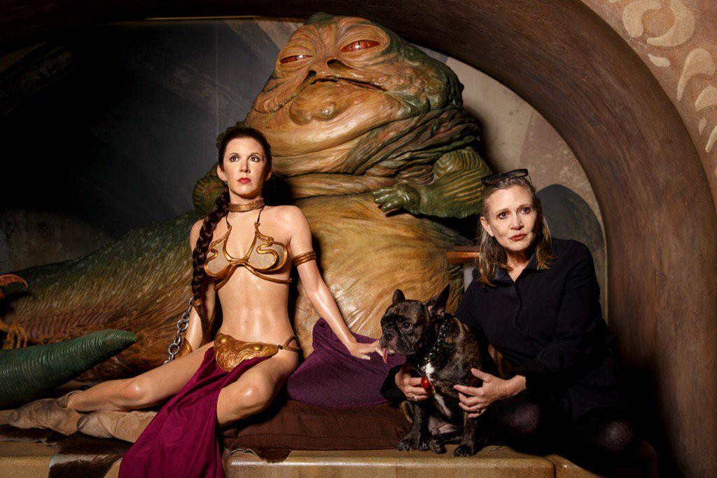 carrie-fisher_madame-tussaud